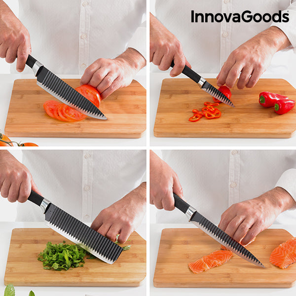 Namiutsu Black Shark Knife Set (4 Pieces) - Kitchendreamz-Top-Kitchen-tools-Kitchen-Gadgets