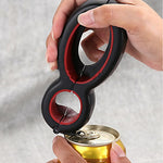 6 in 1 Multi-Function Twist Bottle Opener - Kitchendreamz-Top-Kitchen-tools-Kitchen-Gadgets