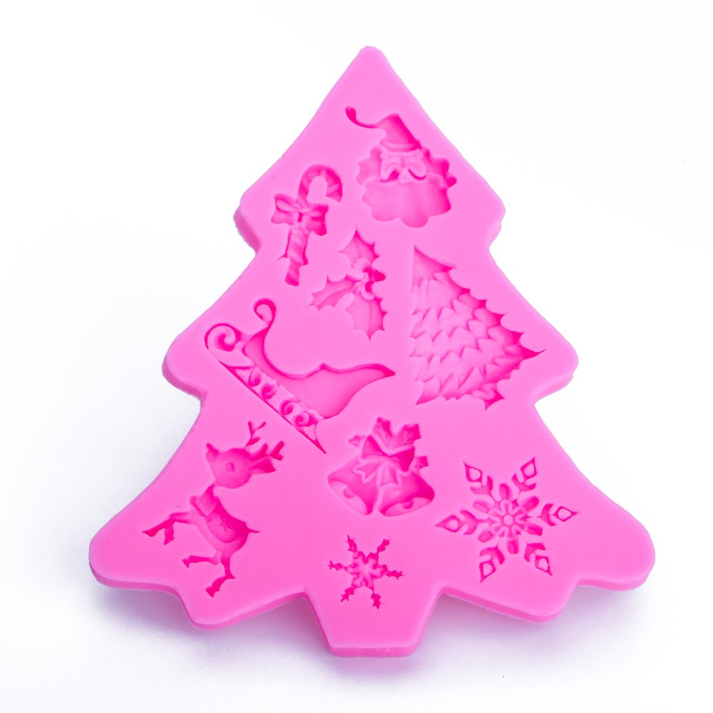 Christmas 3D DIY Silicone Mold - Kitchendreamz-Top-Kitchen-tools-Kitchen-Gadgets