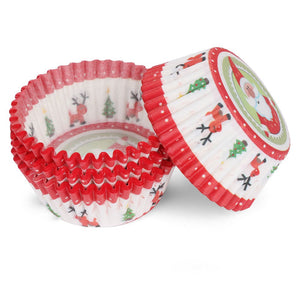100 pcs Christmas Cupcake Wrappers - Kitchendreamz-Top-Kitchen-tools-Kitchen-Gadgets