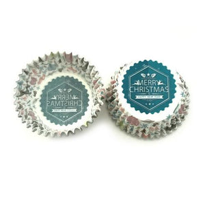 100pcs Christmas Series Cupcake Cup - Kitchendreamz-Top-Kitchen-tools-Kitchen-Gadgets