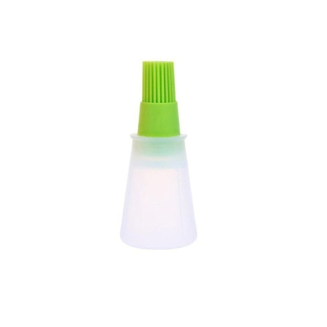 Portable Oil Bottle With Brush - Kitchendreamz-Top-Kitchen-tools-Kitchen-Gadgets