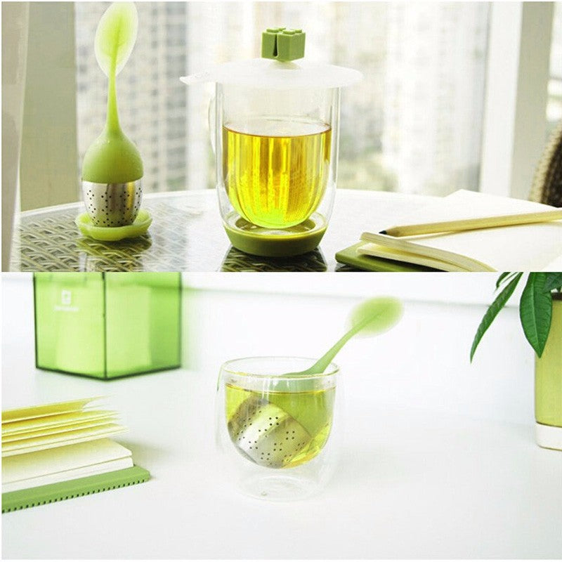 Tea Strainer Sweet Leaf - Kitchendreamz-Top-Kitchen-tools-Kitchen-Gadgets