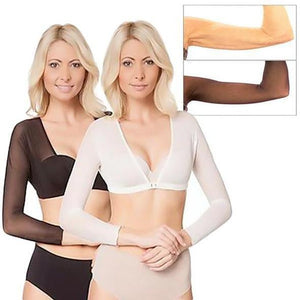 Perfect Plus Size Seamless Arm Shaper (2 PCS/SET)-Clothes & Accessories-airvog.com-BLACK-S-airvog
