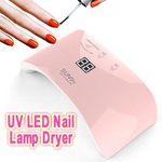 UV LED Nail Lamp Dryer-Beauty-airvog.com-PINK-Eg-airvog