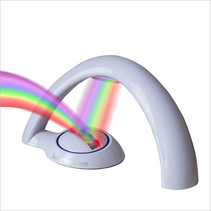 Second generation rainbow projection lamp