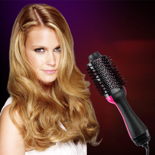 One-Step Hair Dryer & Volumizer-Beauty-airvog.com-US PLUG-airvog