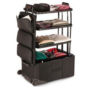 Space-Saver Shelf Luggage-Home & Garden-airvog.com-Black-airvog