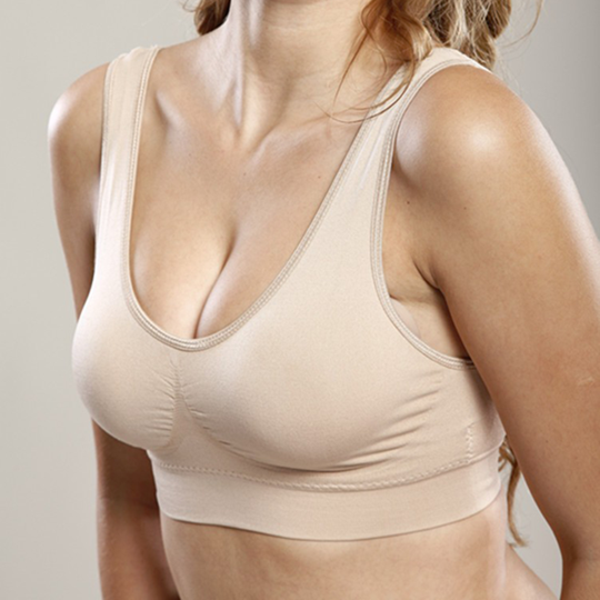 2018 Hot Selling TV Products-Comfortable Seamless Wireless Bra-Clothes & Accessories-airvog.com-BEIGE-S-airvog