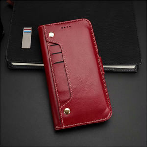 Iphone multifunctional protective leather cover