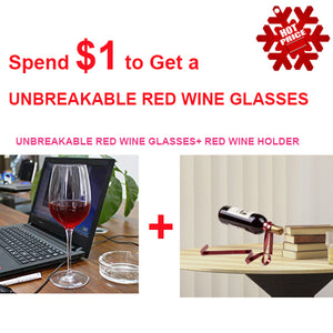 Unbreakable Red Wine Glasses-Home & Garden-airvog.com-(😍ONLY $1 FOR A WINE GLASSES) Unbreakable Red Wine Glasses+ Red Wine Holder-airvog
