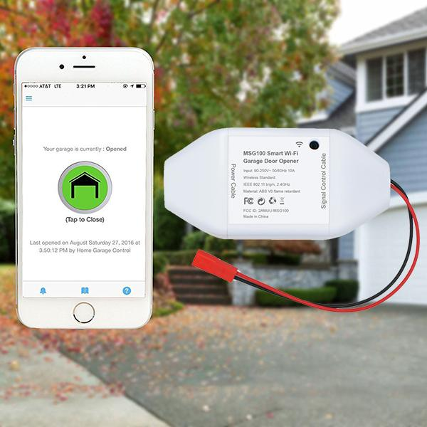 Smart Wi-Fi Garage Door Opener-Home & Garden-airvog.com-airvog