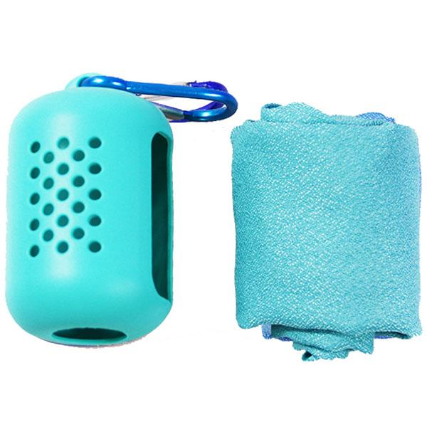 Quick-Drying Portable Sports Towel With Silicone Case-Home & Garden-airvog.com-GREEN-S-airvog