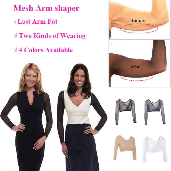 Slimming Upper Mesh Arm Shaper(3pcs/set)