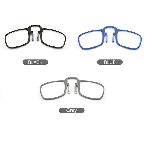 New Version Foldable Reading Glasses-Clothes & Accessories-airvog.com-BLACK +150-airvog