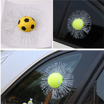 3D Prank Tricky Creative Glass Window Stickers