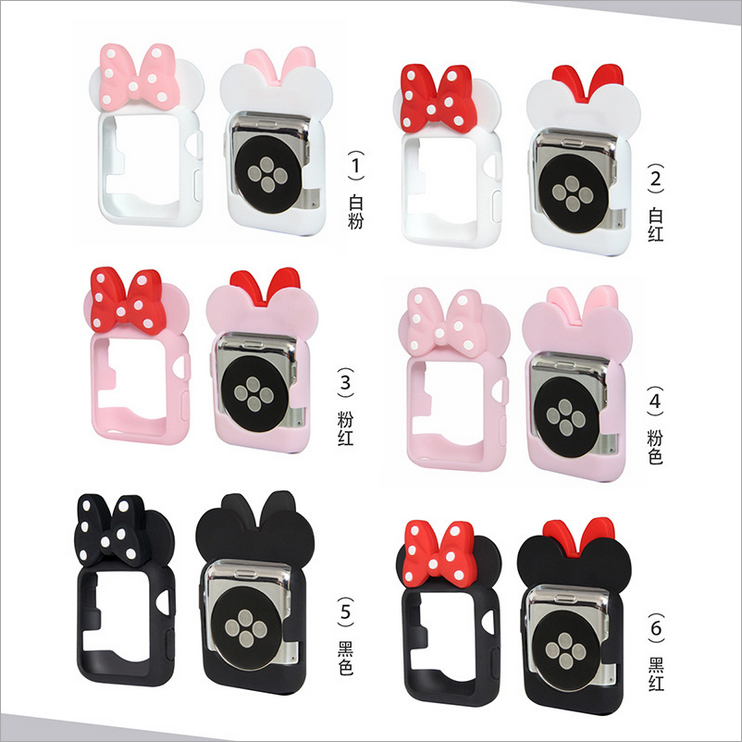 Apple iwatch Minnie watch case(38/40/42/44mm)