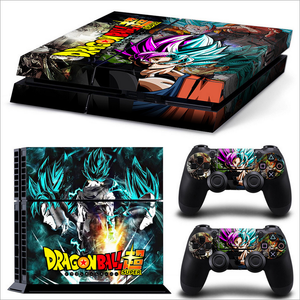 PS4 game console stickers (dragon ball)