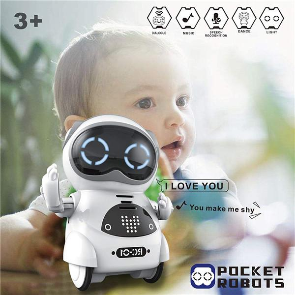 Mini Pocket Robot-Toys-airvog.com-WHITE-airvog