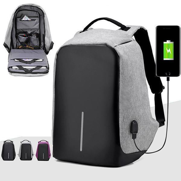 Multifunctional Anti-theft Backpack-Home & Garden-airvog.com-Blue Backpack-airvog