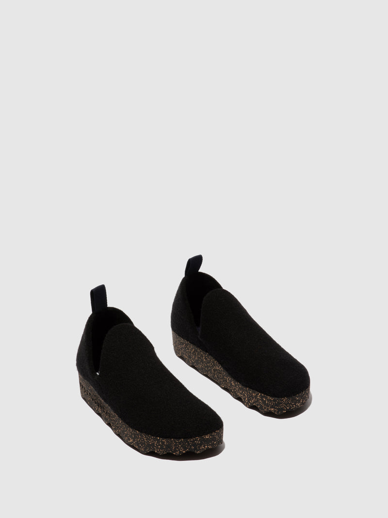 Sapatos Slip-on CITY L Black
