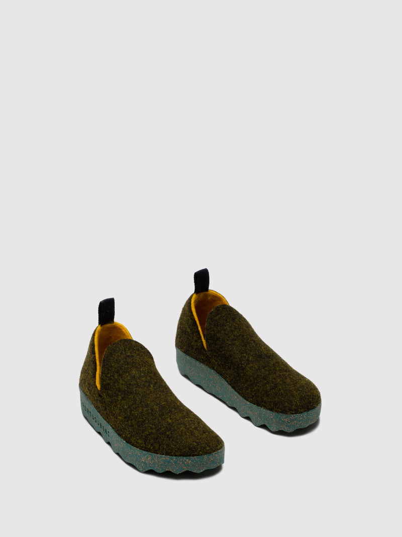 ASPORTUGUESAS Sapatos Slip-on CITY L Forest