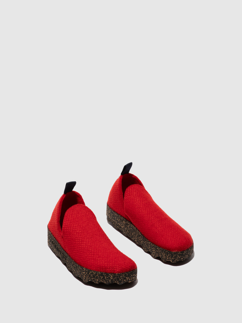 Sapatos Slip-on CITY L Red