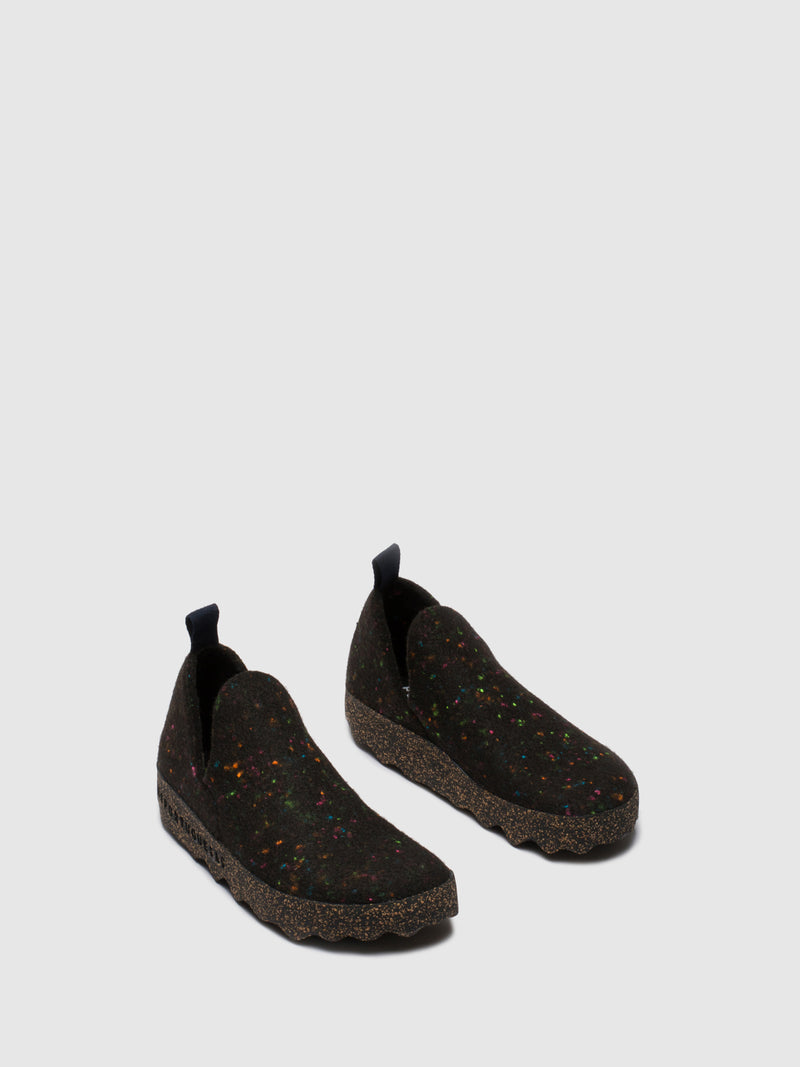 Sapatos Slip-on CITY M Black