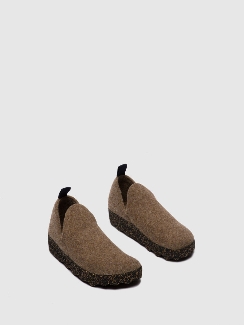 Sapatos Slip-on CITY M Taupe