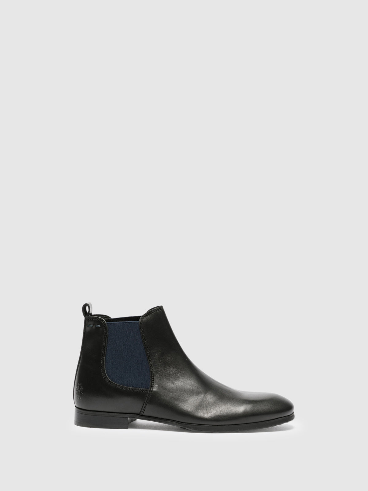 Fly London Botins Chelsea em Preto