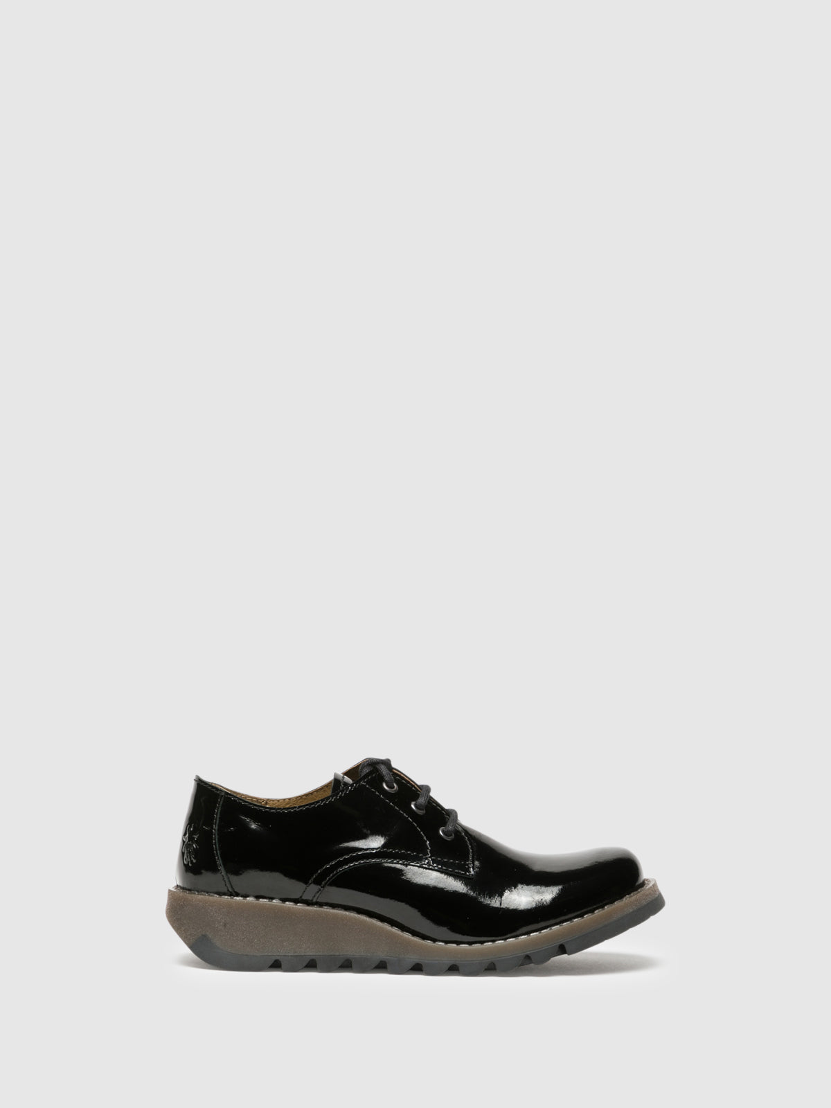 Fly London Sapatos Derby em Preto