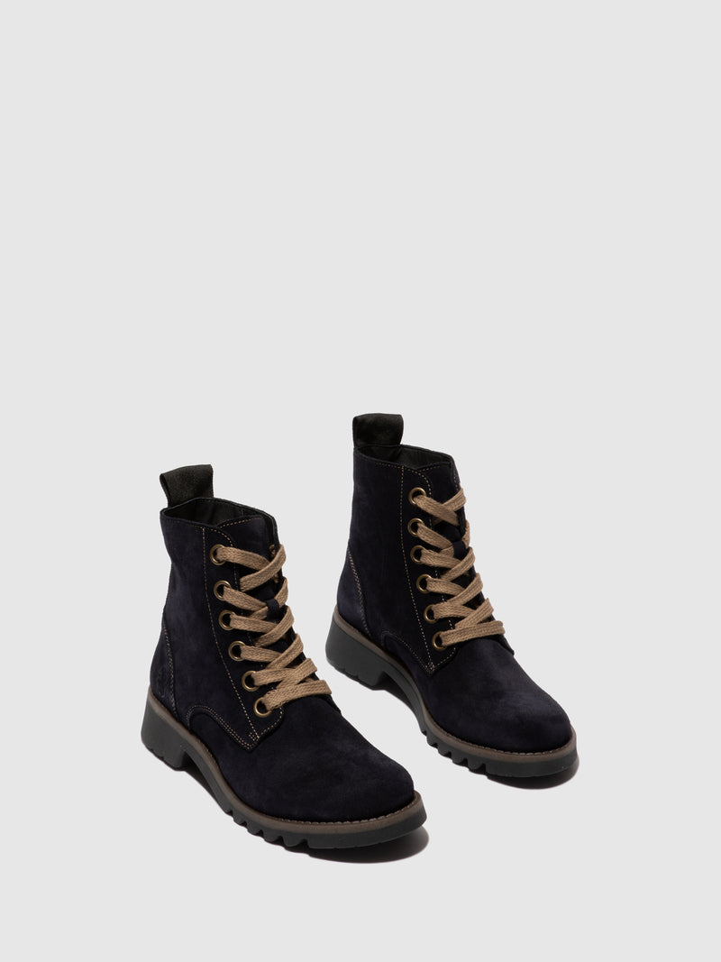 Fly London Botins com Atacadores RAGI539FLY NAVY