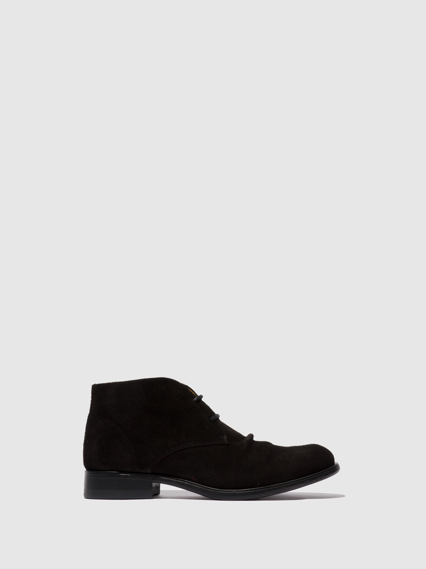 Fly London Botins com Atacadores MURO577FLY BLACK SUEDE