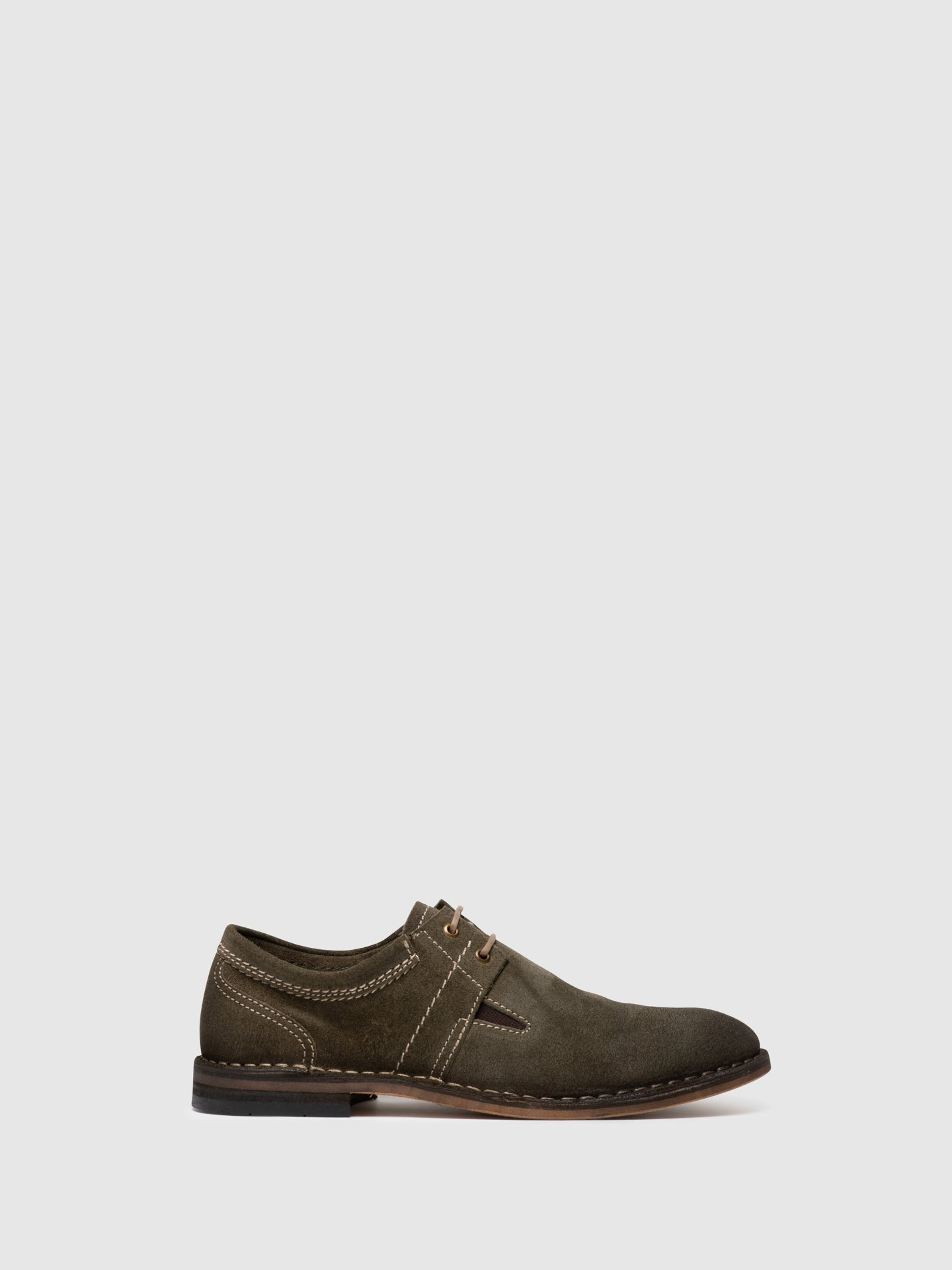 Fly London Sapatos Derby em Khaki