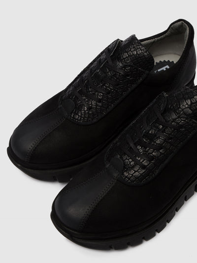 Fly London Ténis com Atacadores BESI203FLY VERONA/CROCO/SILKY BLACK