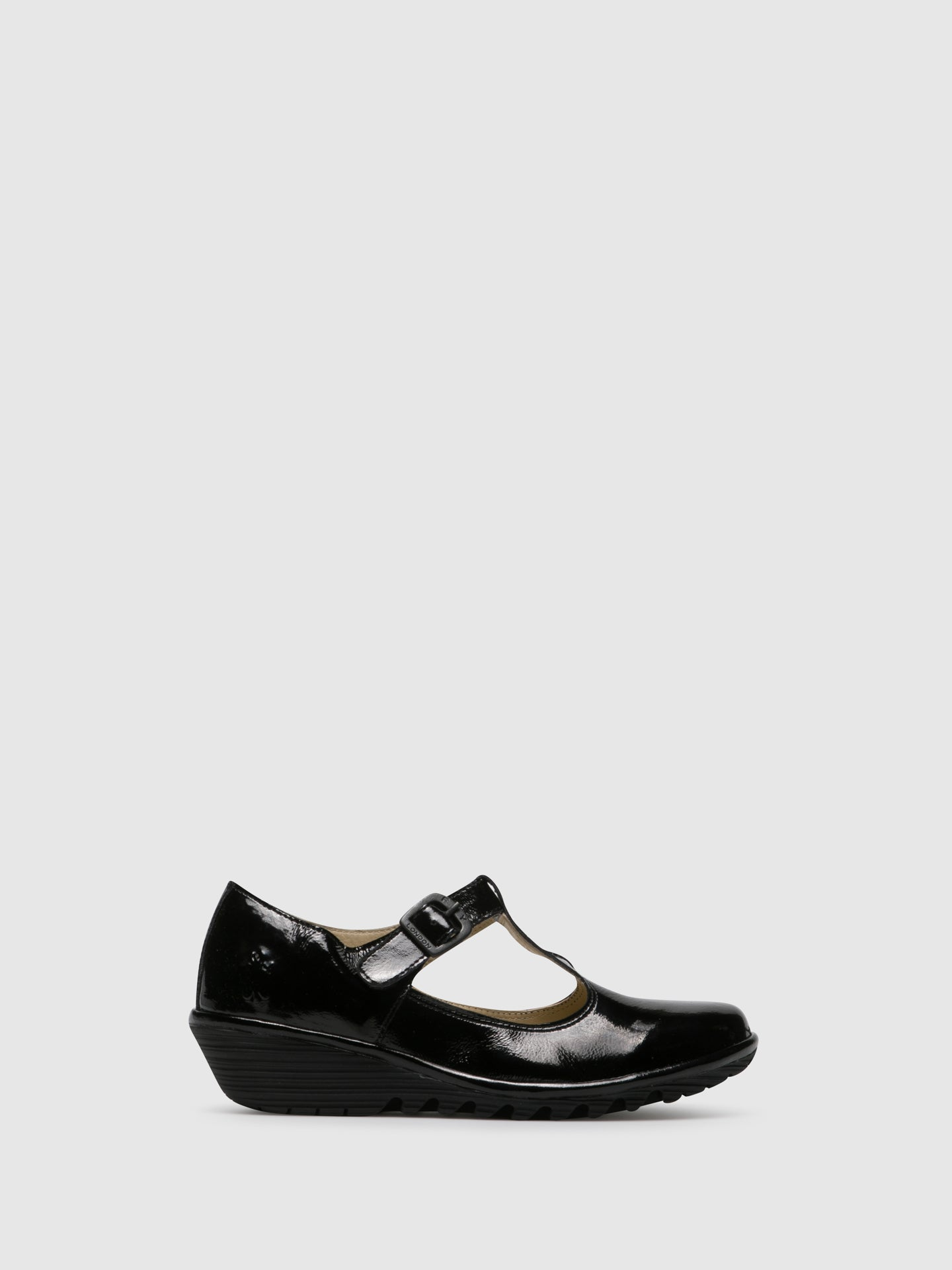 Fly London Sapatos Mary Jane em Preto