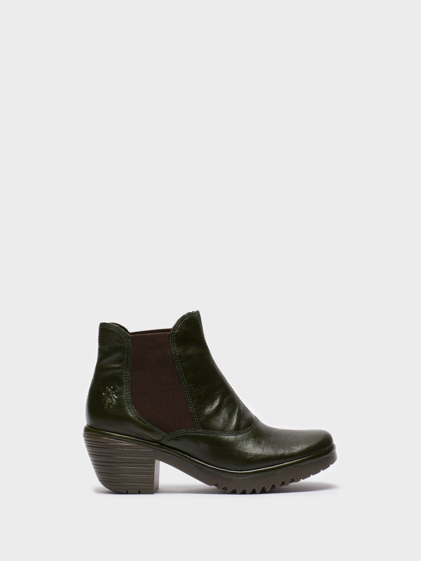 Fly London Botins Chelsea em Verde