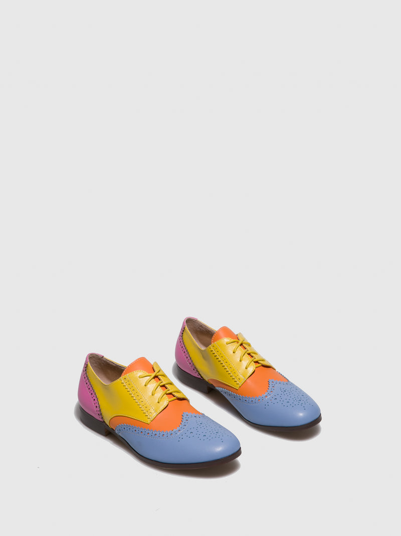 Sapatos Oxford em Multicolor