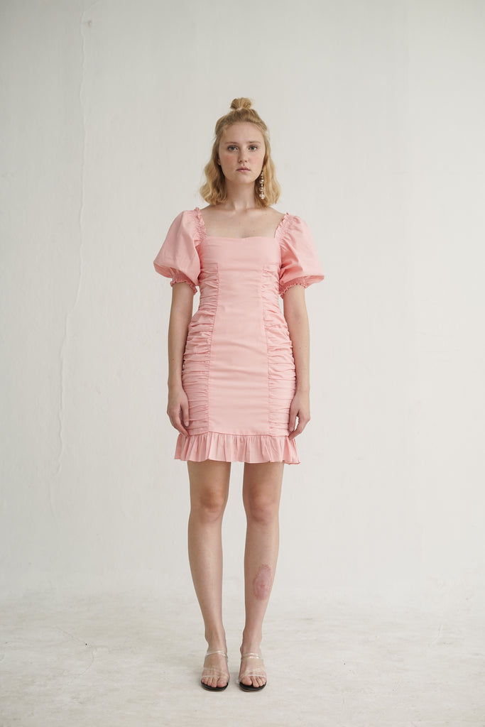 Kiko Dress in Pink