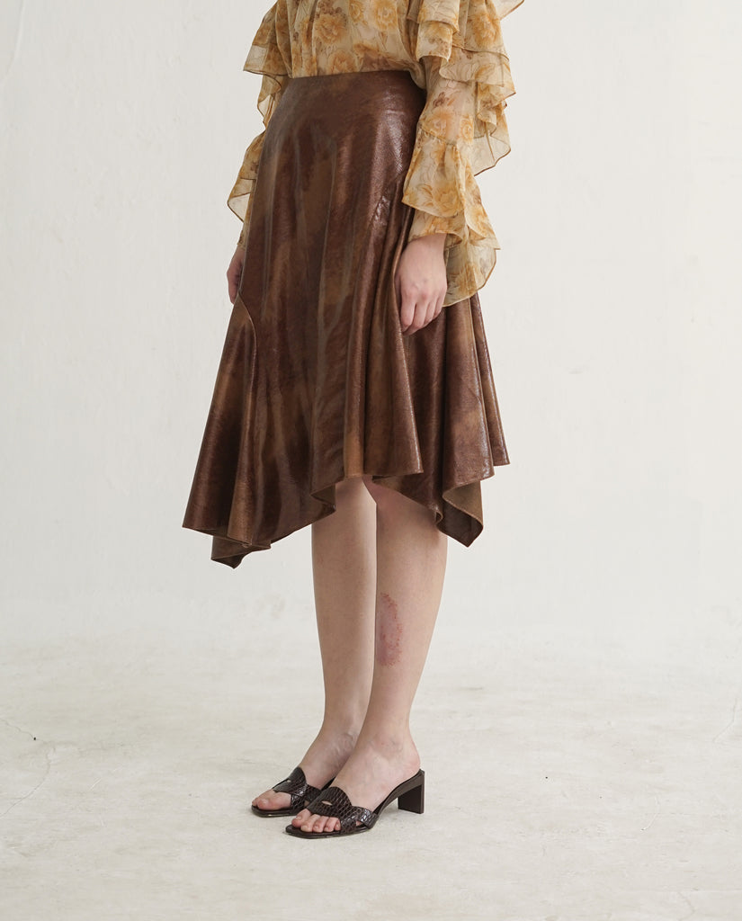 Hannah Skirt in Brown