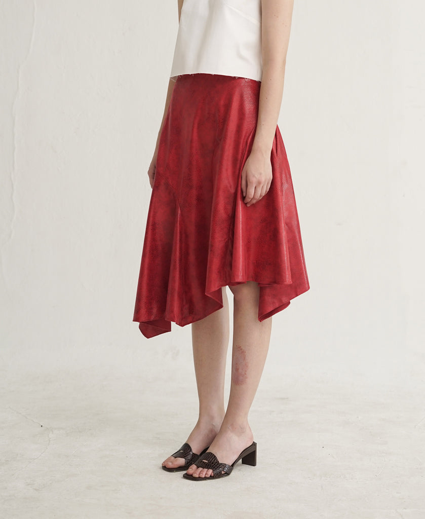 Hannah Skirt in Red