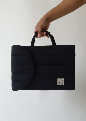 Jeamie Laptop Bag (Black)