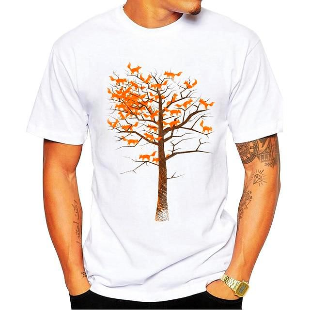 Tree Design T-Shirt