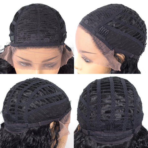 Synthetic Lace Front Wigs - Water Wave Curl - NaturalTrue Hair