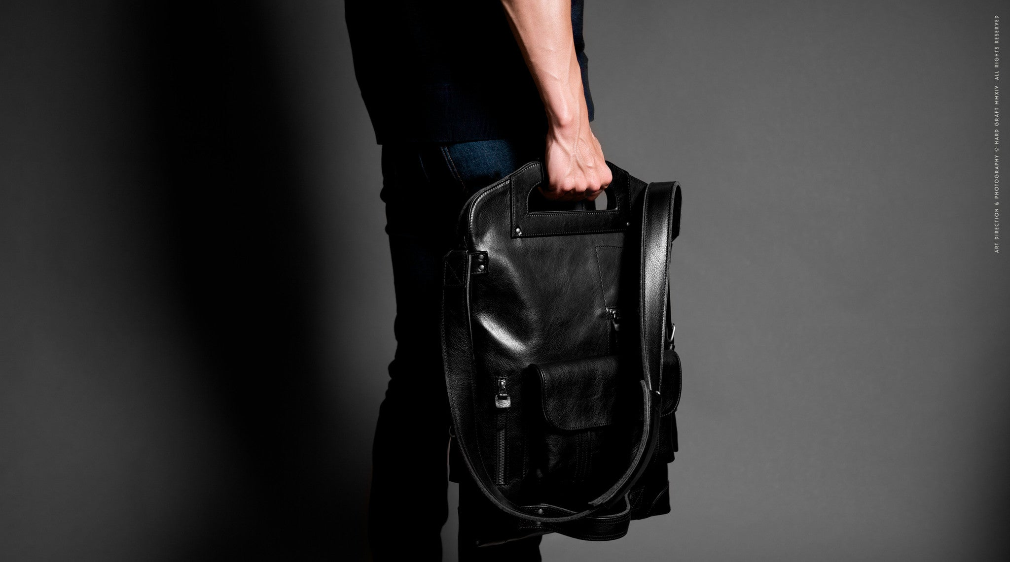 2Unfold Laptop Bag . Coal