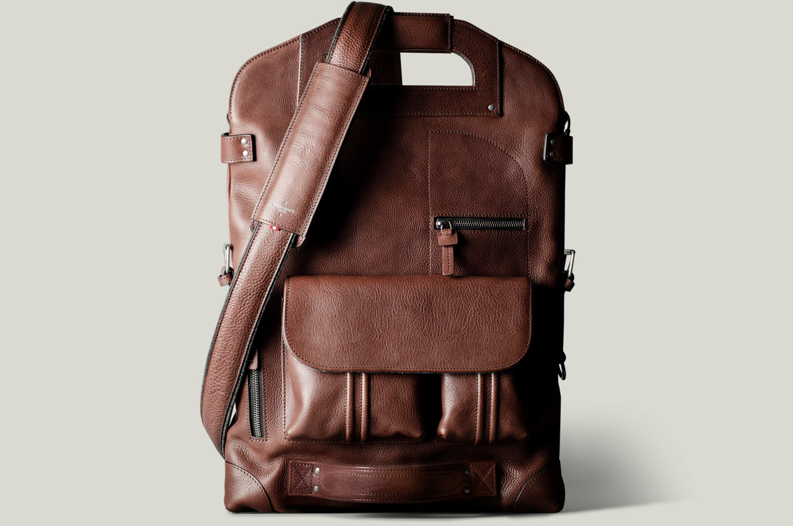 2Unfold Laptop Bag . Chestnut