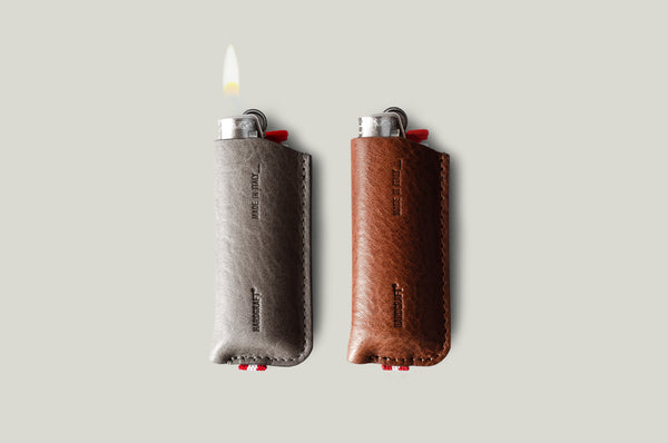 BIC Lighter Cover Duet . Classic / Off Grey