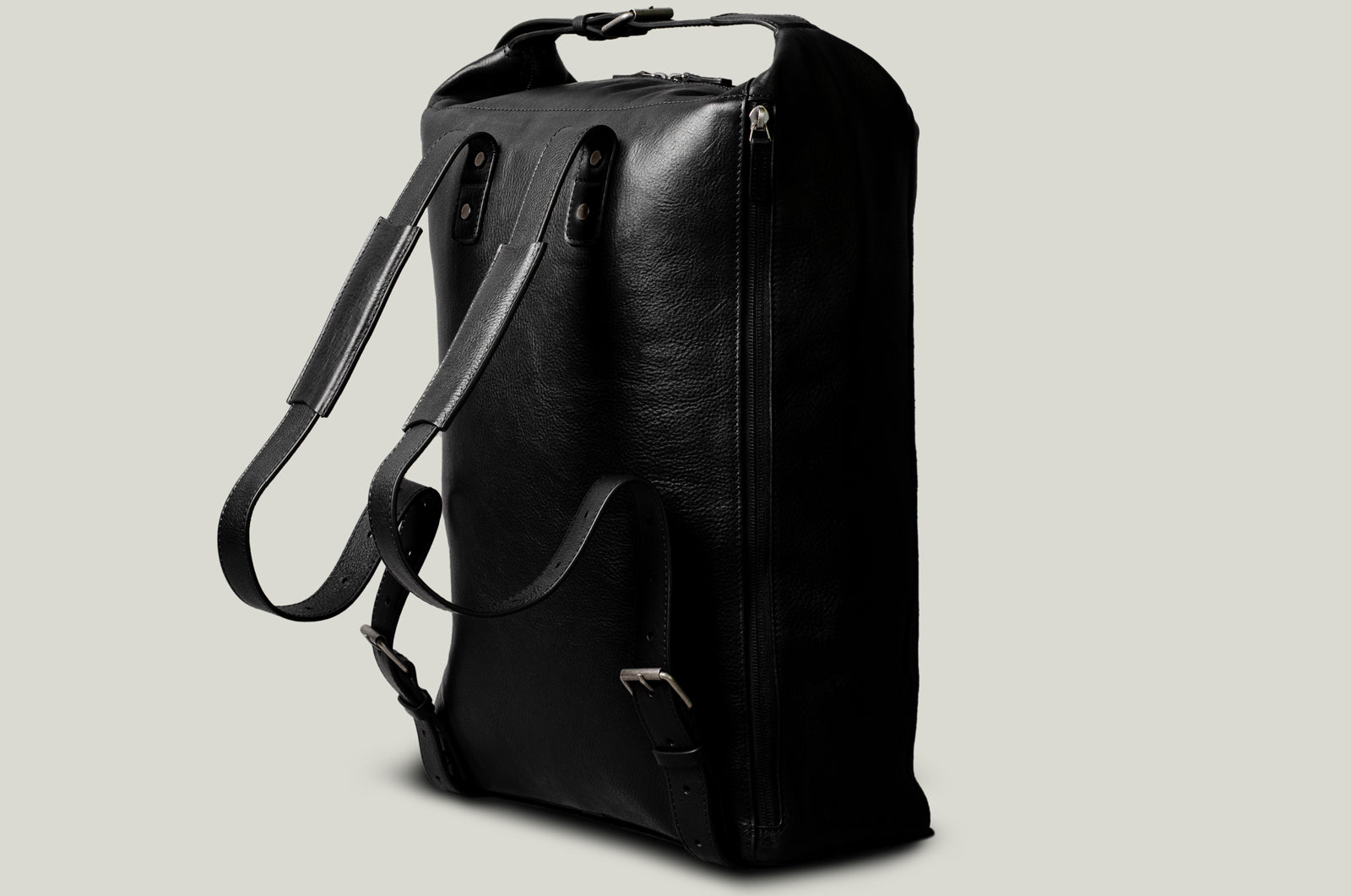 Belted Backpack . Coal