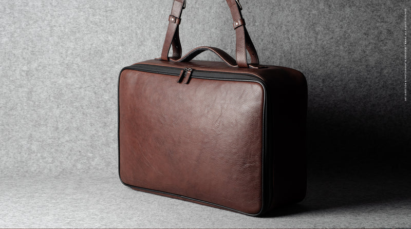 Carry On Suitcase . Chestnut