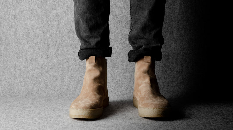 Chelsea Boots . Sand